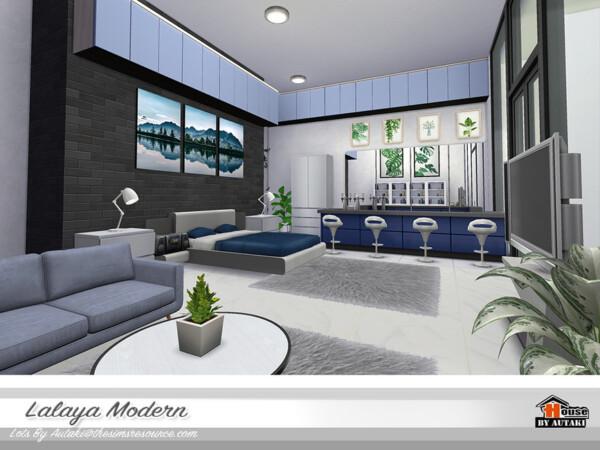 Lalaya Modern House by autaki from TSR