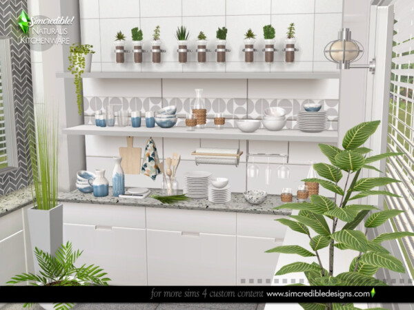 Naturalis kitchenware by SIMcredible! from TSR