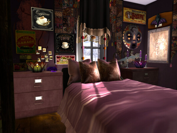 Boho Chic Ulrikes Bedroom by fredbrenny from TSR