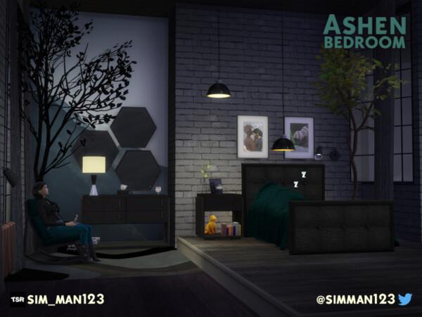 Ashen Bedroom by sim man123 from TSR