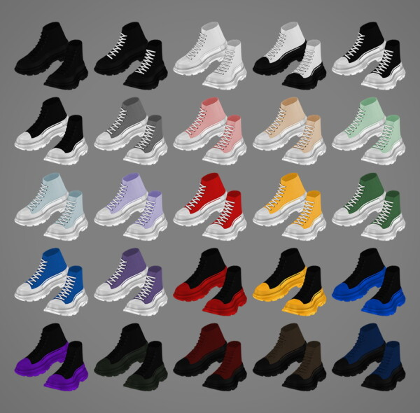 High Top Sneakers from MMSIMS