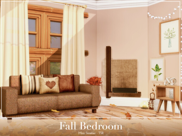 Fall Bedroom by Mini Simmer from TSR