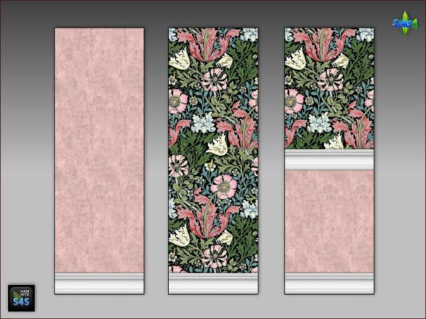 6 wallpaper sets for livingroom or bedroom from Arte Della Vita