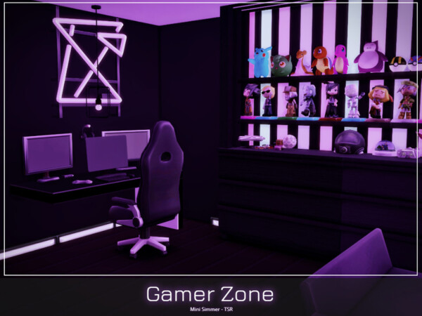 Gamer Zone by Mini Simmer from TSR