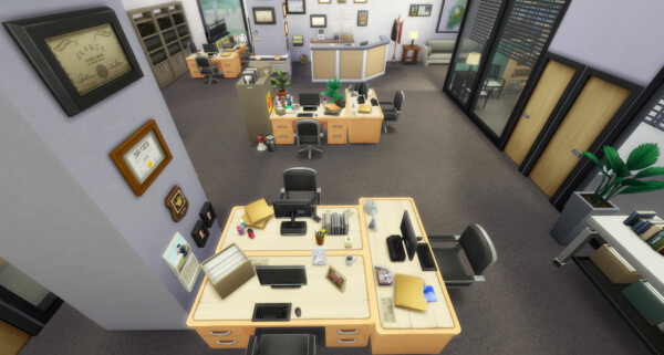 The Office from BereSims