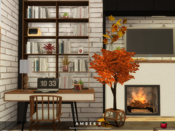 Amber bedroom by melapples from TSR