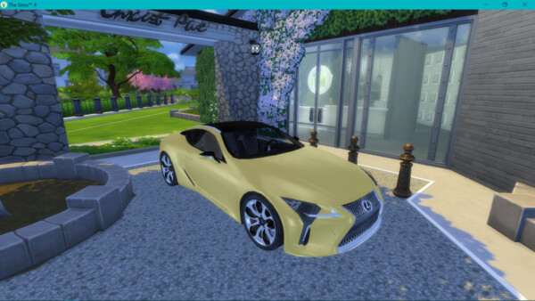 Lexus LC500 from Lory Sims