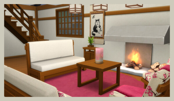 Snowy Escape Livingroom from Deelitefulsimmer