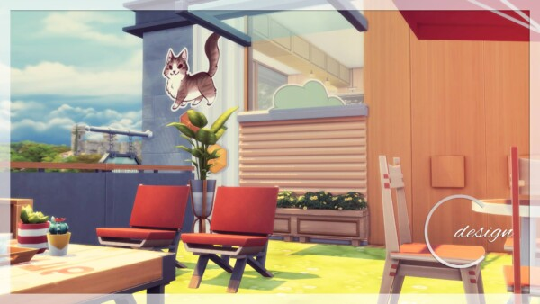 Cat Cafe from Cross Design
