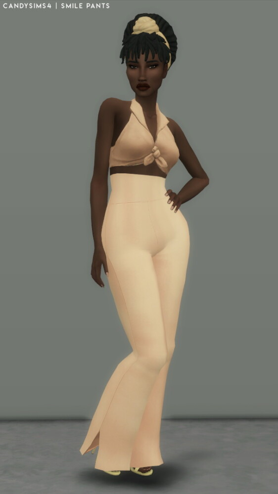 Smile Pants from Candy Sims 4