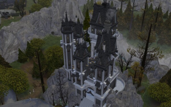 The Vampire Castle by alexiasi from Mod The Sims