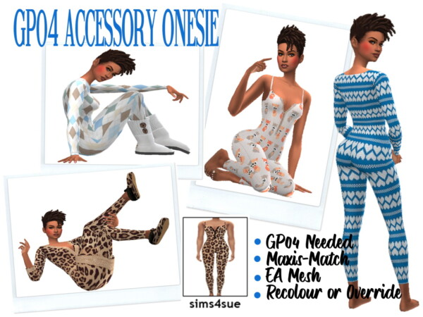 Accessories Onesie from Sims 4 Sue