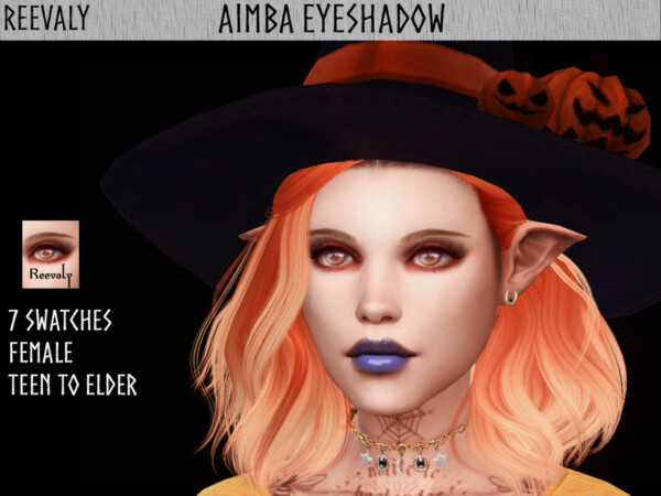 Aimba Eyeshadow by Reevaly from TSR