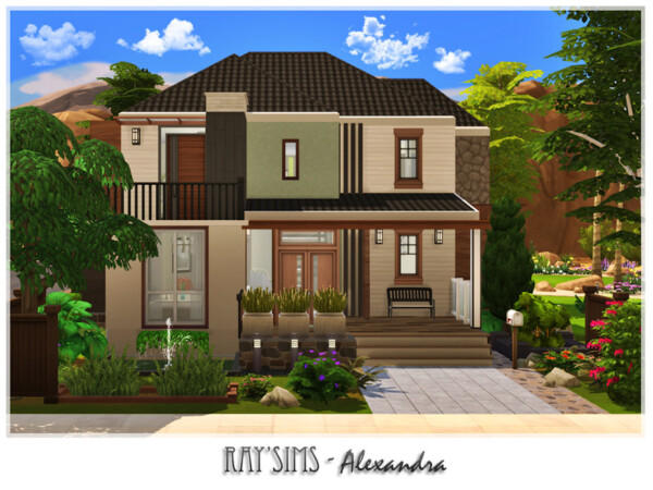Alexandra House by Ray Sims from TSR