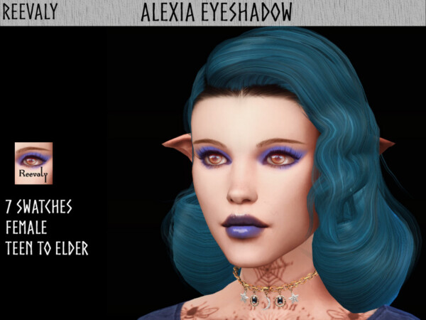 Alexia Eyeshadow by Reevaly from TSR