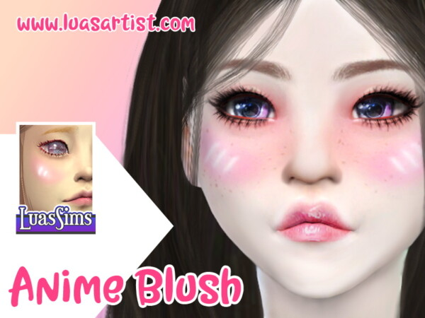 Anime Blush by Luas Sims from TSR