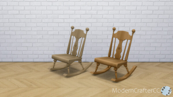Armless Rocking Chair V2 Recolored from Modern Crafter