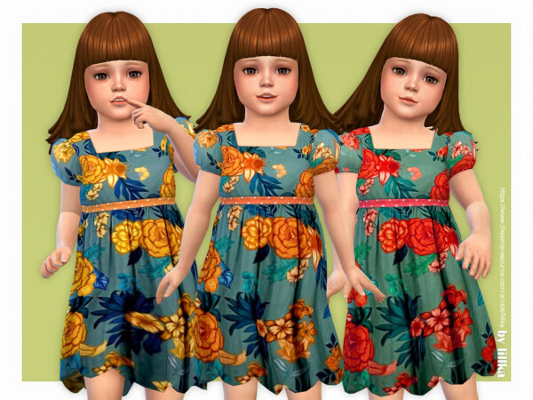 Aster Dress by lillka from TSR
