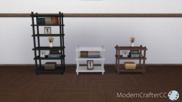 Asymmetric Balance Bookshelf Addon Set from Modern Crafter