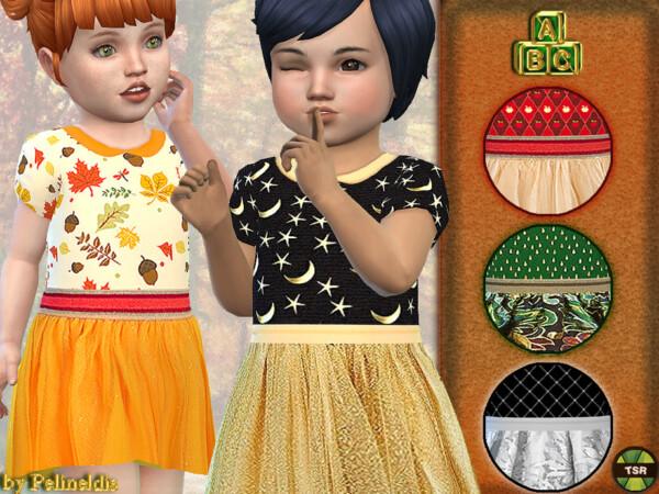 Autumn Dress by Pelineldis from TSR