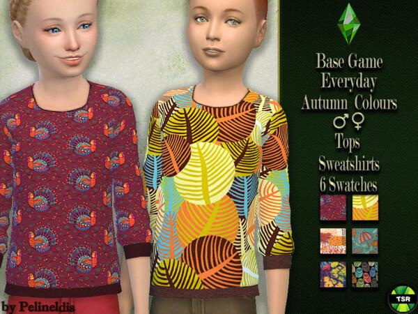 Autumn Sweatshirt by Pelineldis from TSR