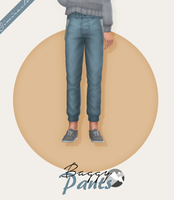 Baggy Pants Child Version from Simiracle