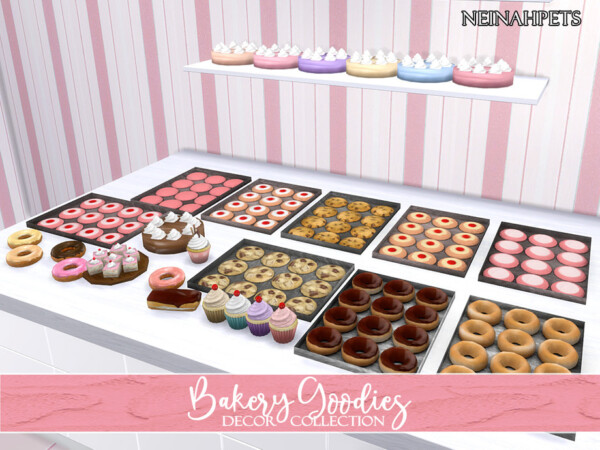 Bakery Goodies Decor Collection by neinahpets from TSR