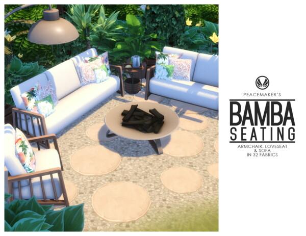 Bamba Seating from Simsational designs
