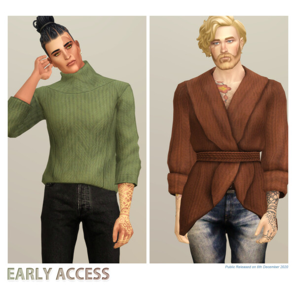 Basic Sweater from Rusty Nail