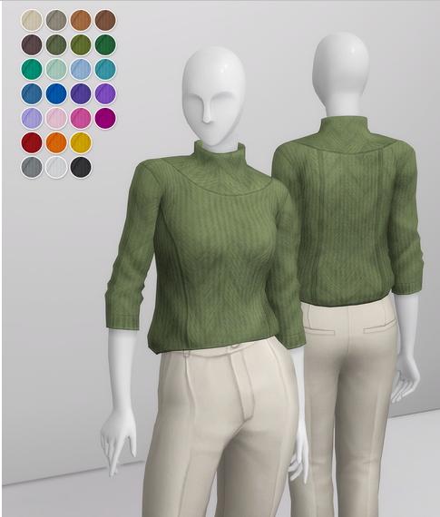 Basic Sweater III from Rusty Nail