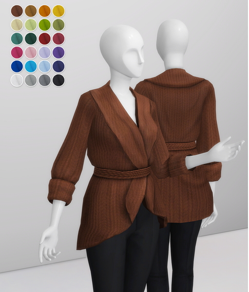 Basic Sweater IV from Rusty Nail
