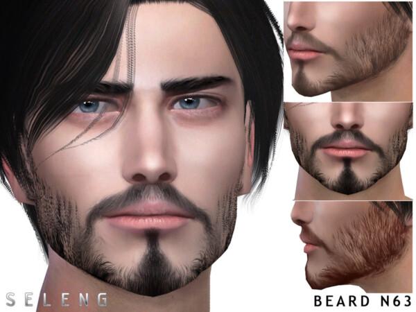 Beard N63 by Seleng from TSR