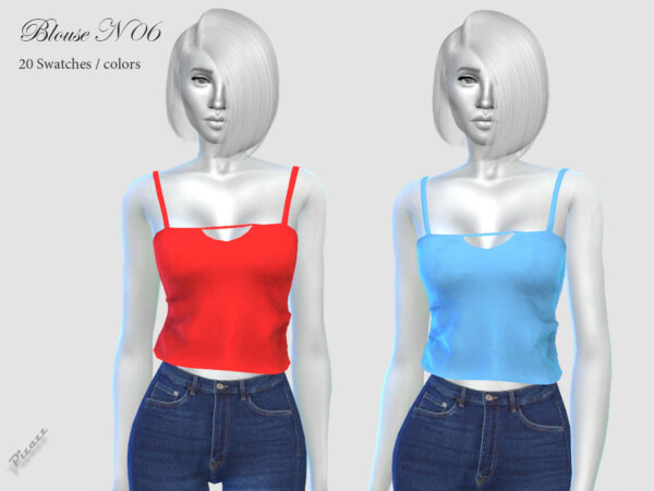 Blouse N06 by pizazz from TSR