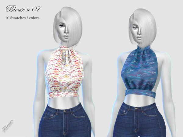 Blouse N 07 by pizazz from TSR