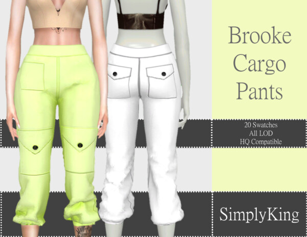 Brooke Cargo Pants from Simply King