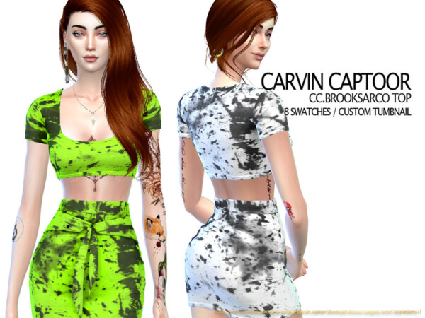 Brooksarco Top by carvin captoor from TSR