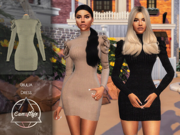 Giulia Dress by Camuflaje from TSR