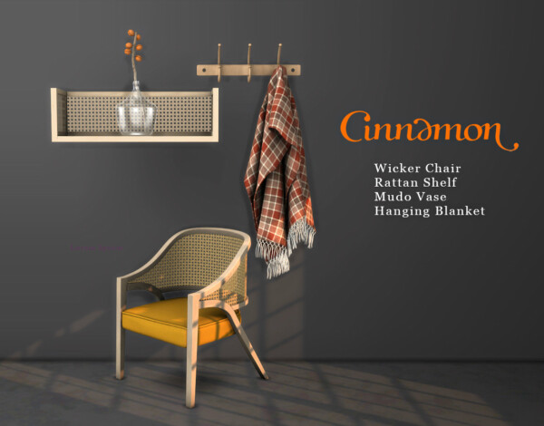 Cinnamon Collection from Leo 4 Sims