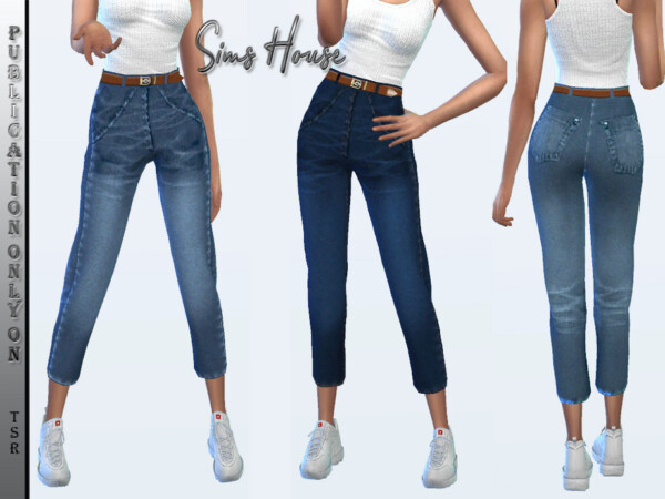 Classic womens jeans by Sims House from TSR