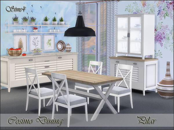Cosimo Dining by Pilar from TSR