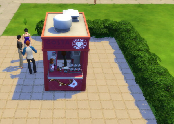 Costa Coffee Stand by ArLi1211 from Mod The Sims