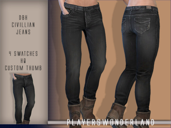 DBH Civilian Jeans by PlayersWonderland from TSR
