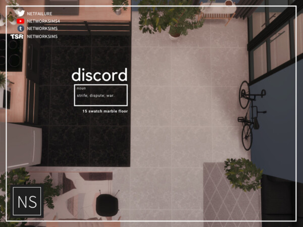 Discord Marble Floor by Networksims from TSR