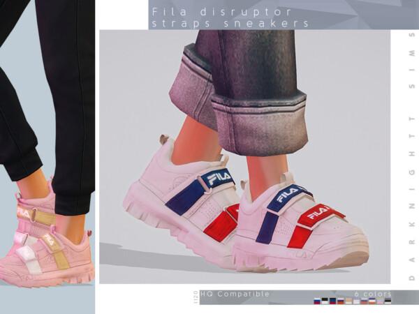 Disruptor Straps Sneakers by DarkNighTt from TSR