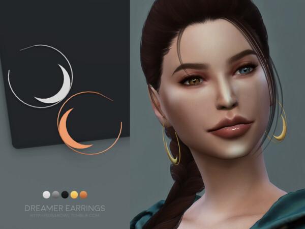 Dreamer earrings by sugar owl from TSR