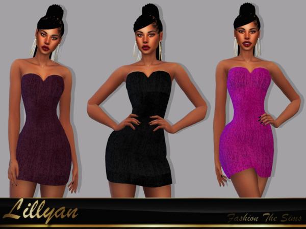 Dress Cariny by LYLLYAN from TSR