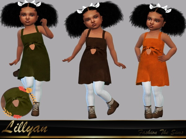 Dress Melissa baby by LYLLYAN from TSR