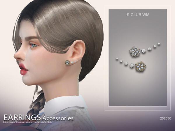 Earrings 202030 by S Club from TSR