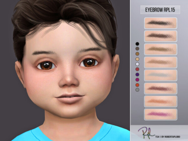 Eyebrow RPL15 by RobertaPLobo from TSR