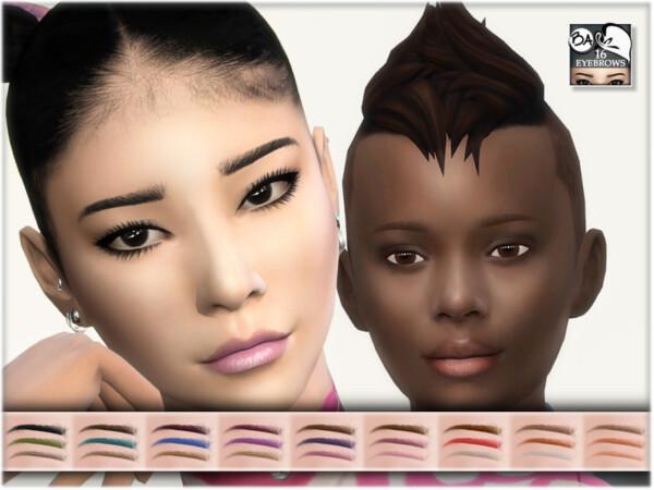 Eyebrows 16 by BAkalia from TSR